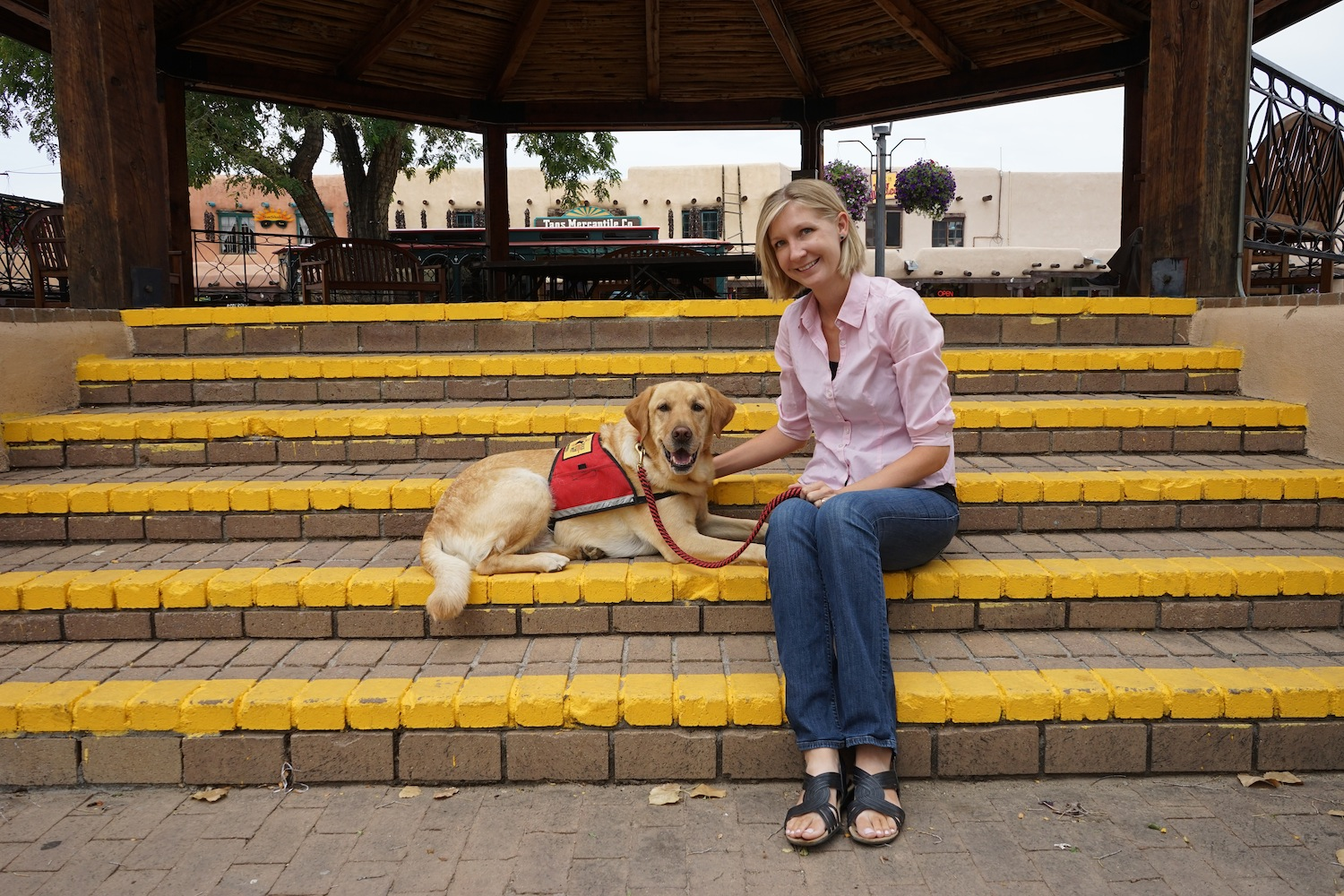 Assistance Dogs of the West Brings Student Training and WCC™ Programs to Taos